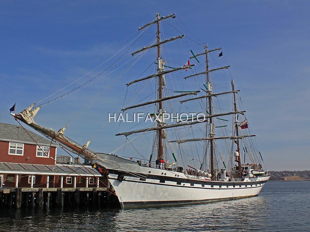 The Barque Simon Bolivar by HALIFAXPHOTO