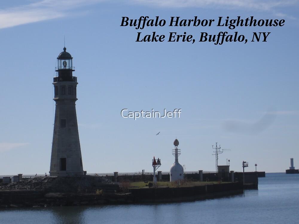 Buffalo Harbor Light House by CaptainJeff