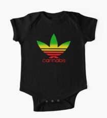 Cannabis One Piece - Short Sleeve