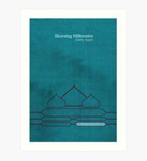 Slumdog Minimalist Art Print