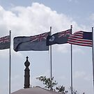 Anzac Day Flags, Cardwell 2011 by myhobby
