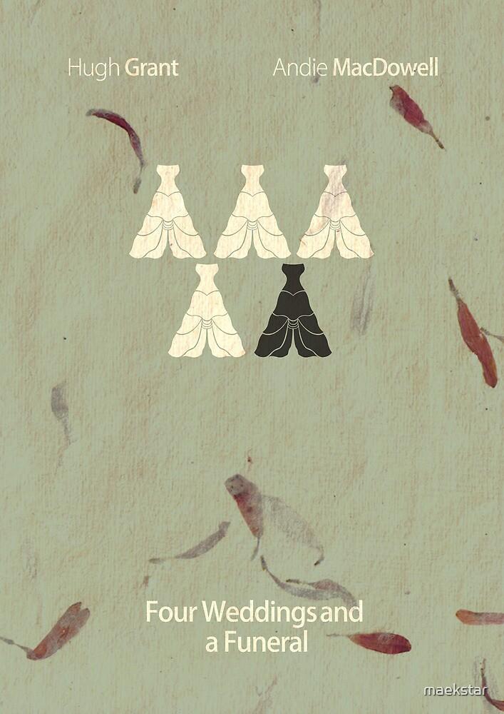 Four Weddings and a Cliche by maekstar