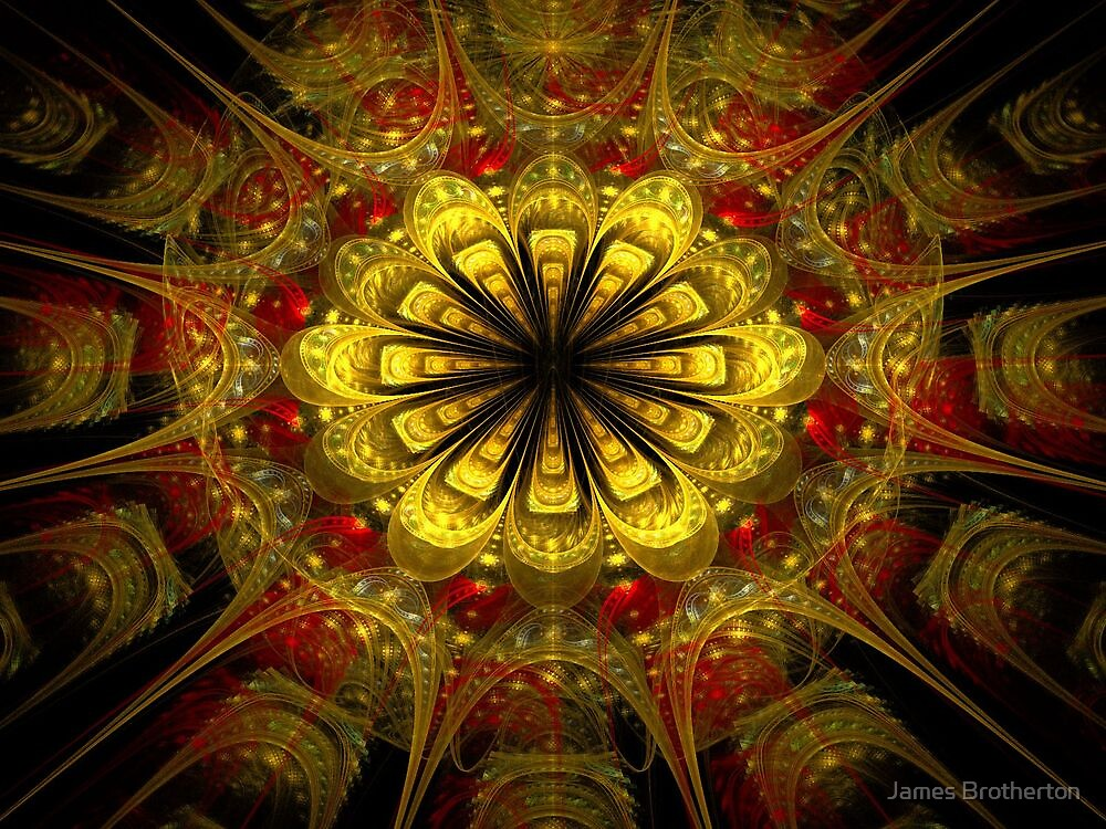 Golden Bloom by James Brotherton