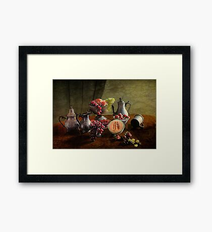 Fruit Feast  Framed Print