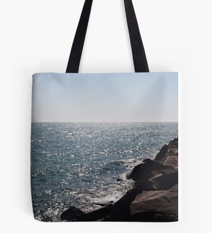 Glistening Horizon Lake Michigan Scene Tote Bag
