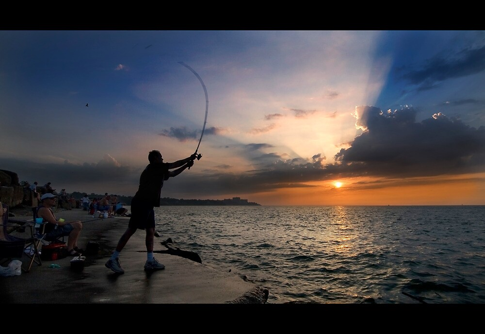 Fisherman by iamwiley