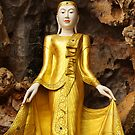 A feminine Buddha by John Spies