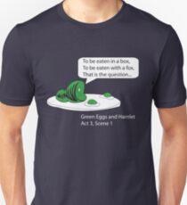 Green Eggs and Hamlet Unisex T-Shirt