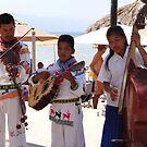 Huichol Musicians by PtoVallartaMex
