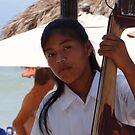 Young Huichol Lady - Jovencita Huichol by PtoVallartaMex