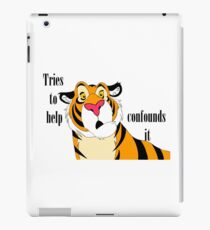 Rajah - Confounds It iPad Case/Skin