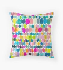 Paradise Painterly Throw Pillow