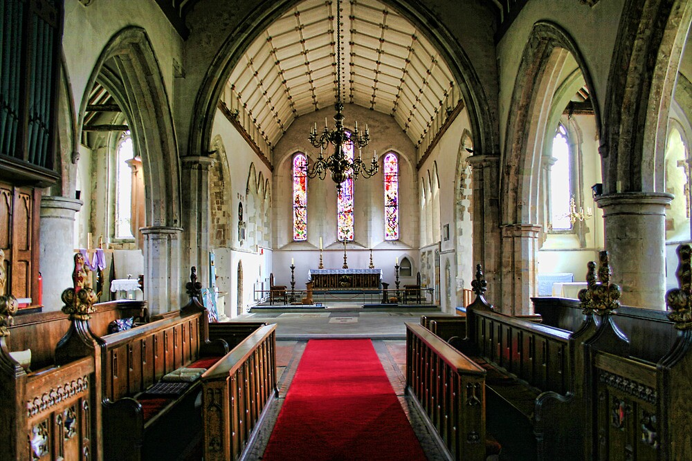The Crossing, All Saints Church Lydd by Dave Godden