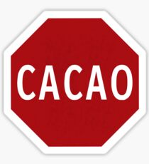 Cacao! Sticker
