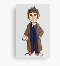 10th Doctor Metal Print