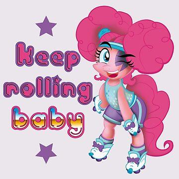 Keep Rollin BB by DistopiaDesing