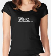 WHO M.D. Women's Fitted Scoop T-Shirt