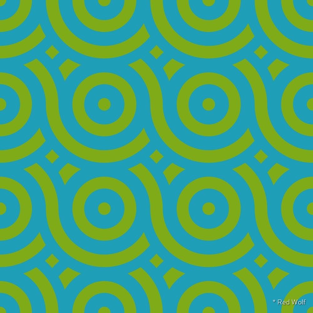 Geometric Pattern: Loop: Algal Bloom by * Red Wolf
