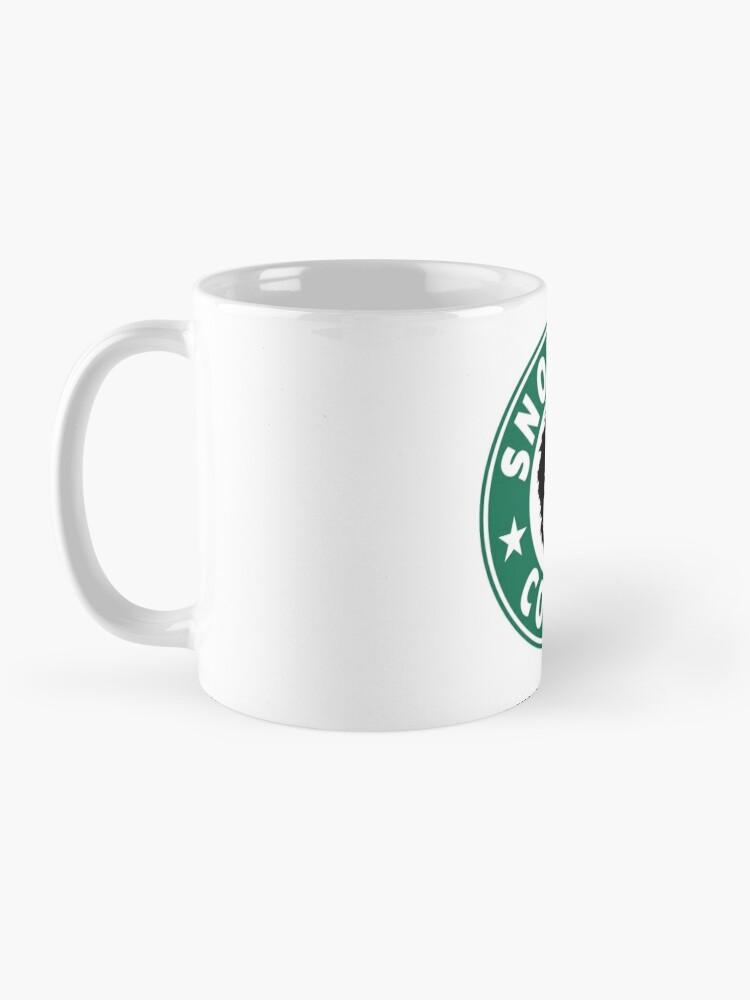 Alternate view of Snot Face Coffee Mug