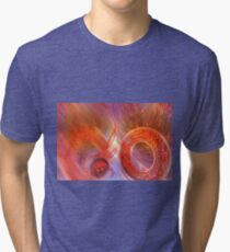 Mathematics abstract with movement in time and space Tri-blend T-Shirt