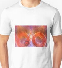 Mathematics abstract with movement in time and space T-Shirt
