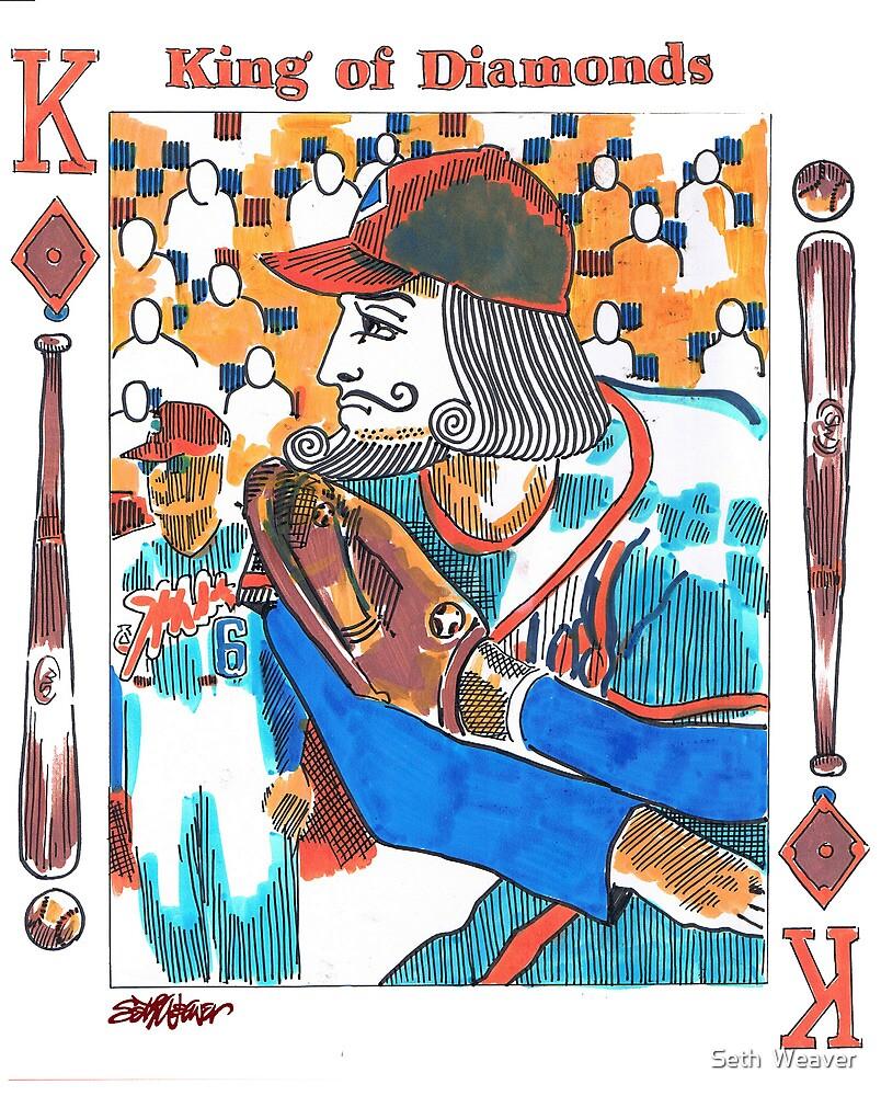 Modern King of Diamonds by Seth  Weaver