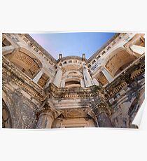 Tomar. Renaissance Cloister. Convent of Christ. Poster
