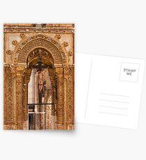 Charola. Convent of Christ. Templars. Postcards