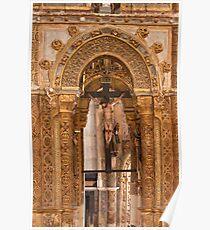 Charola. Convent of Christ. Templars. Poster
