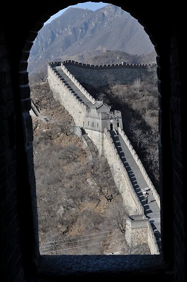 Great Wall Of China by mazzgeek