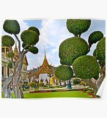 Grand Palace, Bangkok, Thailand. Poster