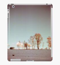 Winter horizont iPad Case/Skin