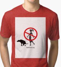 BadOwner.org Tri-blend T-Shirt