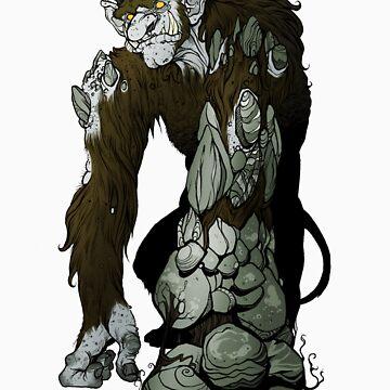 Rock troll - brown by Fauxbulous