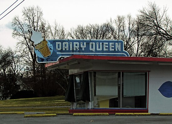 Vintage Dairy Queen by Nevermind the Camera Photography