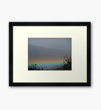 Rainbow Day Framed Print