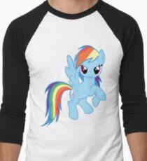 Rainbow Dash Men's Baseball ¾ T-Shirt