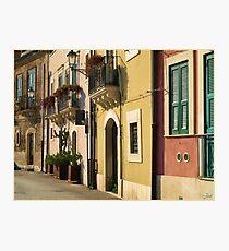 Sicilian Façade Photographic Print