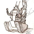 DARREN the War-Bot by Michael Lee