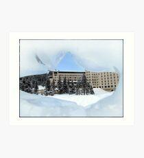 Fairmont Chateau Art Print