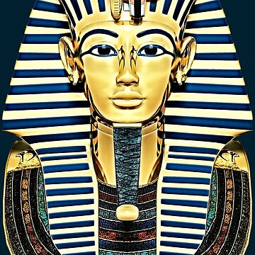 Tutankhamun 'King Tut' Death Mask by SC001