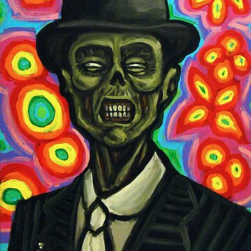 Dapper Zombie in a Bowler Hat by rawjawbone