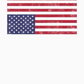 Rebel American Flag Shirt by lickquid