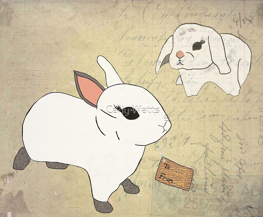 White Rabbits by CarlyWatts