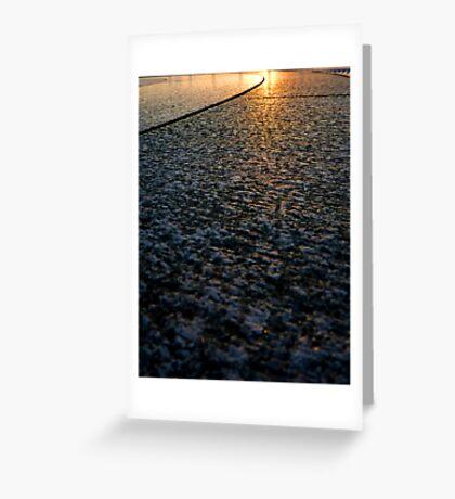 Sun on Stone Greeting Card