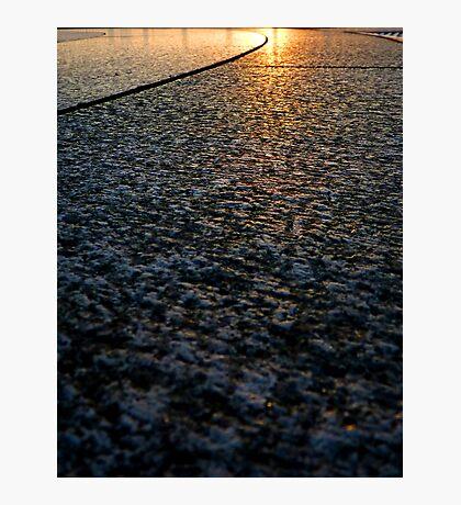 Sun on Stone Photographic Print