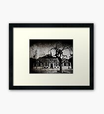 The mansion Framed Print