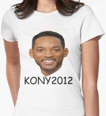 KONY2012 Women's Fitted T-Shirt