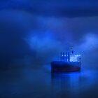 Old girl in Blue by linaji