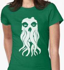 Misfit Cthulhu Womens Fitted T-Shirt